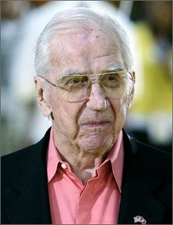 In this July 24, 2007 file photo, Ed McMahon arrives at the premiere of The Simpsons Movie in Los Angeles.  (AP Photo/Matt Sayles, File)