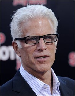 "Ted Danson poses at the premiere of the film ""Step Brothers"" in Los Angeles, Tuesday, July 15, 2008. Danson is relishing his first Emmy nomination since ""Cheers.""  In a remarkable run, Danson was nominated 11 years in a row for each season of the beloved Boston bar comedy, winning twice and mixing in another nomination for the 1984 TV film ""Something About Amelia."" (AP Photo/Chris Pizzello)"