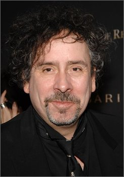 In this Jan. 15, 2008 file photo, director Tim Burton attends the 2007 National Board of Review of Motion Pictures Awards Gala  in New York. (AP Photo/Evan Agostini, file)