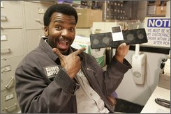 "In this image released by NBC, Craig Robinson stars as Darryl in the NBC comedy, ""The Office.""  (AP Photo/NBC, Byron Cohen)"