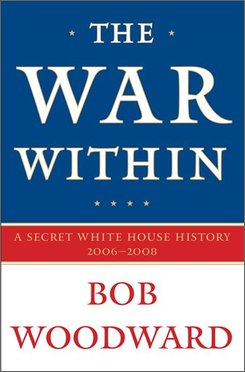 "In this photo released by Simon & Schuster shows the cover for the upcoming Bob Woodward book ""The War Within"