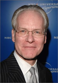 "In this May 12, 2008 file photo, television personality Tim Gunn, shown in New York, is among figures from the fashion world involved in marketing of new Tide detergent and Downy fabric care softener ""Total Care"" products. (AP Photo/Peter Kramer)"