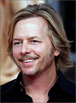"In this Aug. 20, 2008 file photo, David Spade arrives at the premiere of ""The House Bunny"" in Los Angeles. (AP Photo/Matt Sayles, file)"