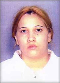 This Jan. 18, 2006 file photo provided by the district attorney's office in Brooklyn, N.Y., shows Nixzaliz Santiago, the mother of Nixzmary Brown. Santiago is on trial for second-degree murder, manslaughter and reckless endangerment for her role in the Jan. 11, 2006 death of seven-year-old Nixzmary, though her husband, Cesar Rodriguez, has been convicted of manslaughter for delivering the blow that killed the little girl.  (AP Photo/Brooklyn District Attorneys Office, File)