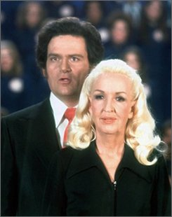 This undated file photo made available by Tony Alamo Christian Ministries shows Tony Alamo and his wife Susan. The FBI says evangelist Tony Alamo has been arrested in Arizona on suspicion of transporting minors across state lines for sexual purposes.  (AP Photo/Tony Alamo Christian Ministries, file)