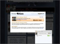 This is an undated screen grab showing the new MySpace music page. In a bid to spruce up its popular online hangout, MySpace plans to flip the switch Thursday, Sept. 25, 2008, on a much-anticipated service that will give its roughly 120 million users free access to hundreds of thousands of songs from the world's largest recording labels.  (AP Photo/MySpace)