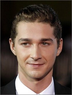  In this Sept. 16, 2008 file photo, actor Shia LaBeouf poses on the press line at the premiere of the feature film &quot;Eagle Eye&quot; in Los Angeles. (AP Photo/Dan Steinberg, file)