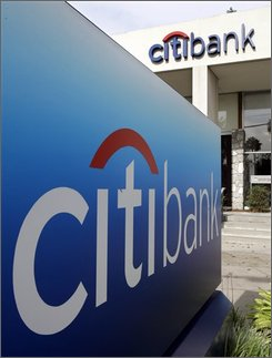 A Citibank is shown in Mountain View, Calif., Friday, Oct. 3, 2008. Citigroup Inc. announced in a news released Saturday that state Supreme Court Justice Charles Ramos issued the order Saturday night Oct. 4, 2008. (AP Photo/Paul Sakuma)
