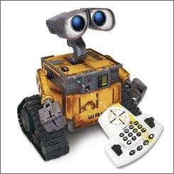 In this image provided by Thinkway Toys, the Ultimate Wall-E toy is shown. (AP Photo/Thinkway Toys)