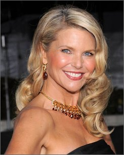 In this Sept. 22, 2008 file photo, model Christie Brinkley attends the Metropolitan Opera season opening night gala performance at Lincoln Center in New York. (AP Photo/Evan Agostini, file)