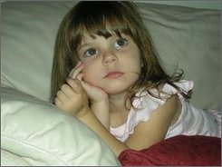 This undated file photo released by the Orange County Sheriff's Office in Orlando, Fla. on Friday, July 18, 2008, shows Caylee Marie Anthony , 2,  who has been missing more than  four months.  On Tuesday, Oct. 14, 2008, a grand jury indicted Casey Anthony on a count of first-degree murder in the death of her daughter, Caylee. (AP Photo/Orange County Sheriff's Office, file)