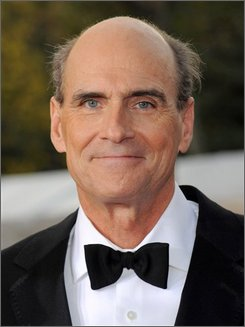 In this Sept. 22, 2008 file photo, singer James Taylor attends the Metropolitan Opera season opening night gala performance at Lincoln Center in New York. (AP Photo/Evan Agostini, file)