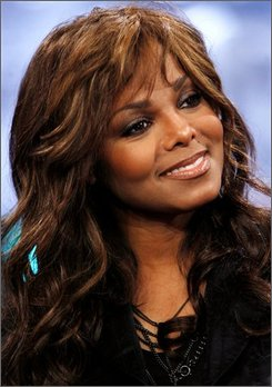  In this June 2, 2008 file photo, singer Janet Jackson appears onstage during a taping of MTV's &quot;Total Request Live&quot; at the MTV Times Square Studios in New York.  (AP Photo/Jason DeCrow, file)