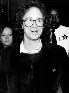 This Dec. 3, 1980 file photo shows former Weather Underground member William Ayers as he enters the Criminal Courts Building in Chicago. Ayers, now a professor at the University of Illinois at Chicago, helped found the radical organization, which carried out bombings at the Pentagon and the Capitol in the early 1970s.   (AP Photo/Charles Knoblock)