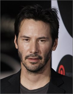 In this Oct. 1, 2008 file photo, Keanu Reeves arrives at Target Presents AFI Night at the Movies in Los Angeles.  (AP Photo/Matt Sayles, file)