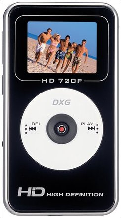 In this photo provided by DXG, the DXG USA 567V HD camcorder is shown. (AP Photo/DXG)