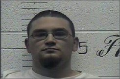 This Oct. 2008 image provided by the Crockett County Sheriff Office shows Paul Michael Schlesselman. White supremacists Daniel Cowart, 20, and Paul Schlesselman, 18, allegedly plotted to go on a national killing spree, shooting and decapitating black people and ultimately targeting Democratic presidential candidate Barack Obama, federal authorities said Monday, Oct. 27, 2008. (AP Photo/Crockett County Sheriff Office)