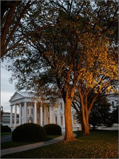  The White House is seen in the morning light, Tuesday, Nov. 4, 2008 in Washington. Today's election will determine the next occupant of the White House.  (AP Photo/Ron Edmonds)