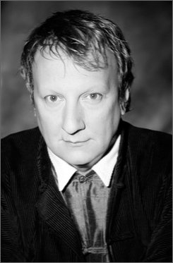 """In this image released by the Metropolitan Opera, Canadian director Robert Lepage is shown.  Lepage's production of Berlioz's """"La Damnation de Faust"""" opens Friday, Nov. 7, 2008 at the Metropolitan Opera in New York.  It will be telecast in high definition to theaters around the world on Nov. 22. (AP Photo/Metropolitan Opera, Sophie Grenier)"""