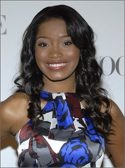"In this Sept. 18, 2008 file photo, actress Keke Palmer poses on the press line at the ""6th Annual Teen Vogue Young Hollywood Party"" in Los Angeles. (AP Photo/Dan Steinberg, File)"