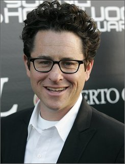"In this April 27, 2008 file photo, Director and producer J.J. Abrams poses in Los Angeles, U.S.A .  Abrams beamed down to Rome on Friday, Nov. 14, 2008,  to give a sneak peek of the early years of Captain James T. Kirk and the other characters who warp around the galaxy in the upcoming ""Star Trek"" movie.  (AP Photo/Dan Steinberg, file)"