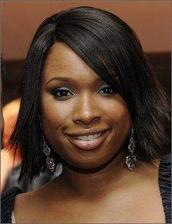 "In this Oct. 6, 2008 file photo, Jennifer Hudson poses at the post-premiere party for  ""The Secret Life of Bees"" at the Academy of Motion Picture Arts and Sciences in Beverly Hills, Calif. (AP Photo/Chris Pizzello, file)"