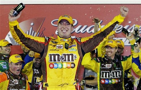 Kyle Busch edges Stewart to win Shootout | FLORIDA TODAY ...