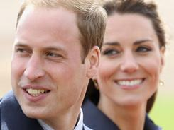 Kate Middleton and Prince William visit Whitton Park in Darwen, England, on April 11. With only a few weeks to go until the Royal Wedding Prince William and Kate Middleton are making one of their final public appearances.
