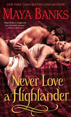 Review never love a highlander by maya banks usatoday com