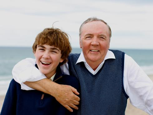 Photo of James Patterson & his  Son  Jack Patterson