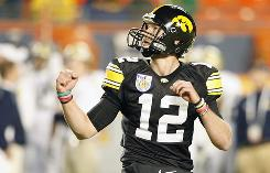Iowa quarterback Ricky Stanzi hopes this is the year the Iowa Hawkeyes can take hold of the Big Ten and maybe even contend for the BCS title.