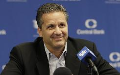 John Calipari says to compare this year's crop of freshmen at Kentucky to the stellar class from a year ago is unfair.