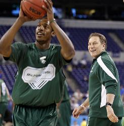 Michigan State coach Tom Izzo and his Spartans will be in a fight to rule the Big Ten this season with the likes of Purdue, Ohio State, Illinois and Wisconsin.