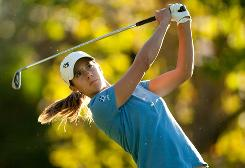 Azahara Munoz has already clinched the LPGA's rookie of the year award with two events left on the schedule.