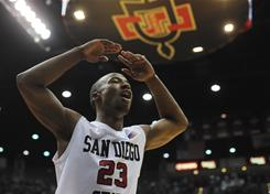 D.J. Gay and the San Diego State Aztecs have risen to No. 10 in the USA TODAY/ESPN coaches poll and lead a trio of Mountain West squads in the Top 25 this week.