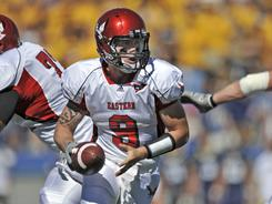 Quarterback Bo Levi Mitchell and the Eastern Washington Eagles will face off with Delaware in the Football Championship Subdivision title game Friday in Frisco, Texas.