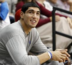 The NCAA ruled Friday that Kentucky basketball player Enes Kanter is permanently ineligible from playing college basketball with the Wildcats.