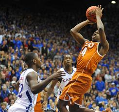 Texas guard J'Covan Brown had a big game in the Longhorns' upset of then-No. 2 Kansas last weekend. On Saturday, Brown and the 'Horns set their sights on Missouri.