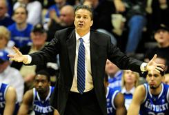Kentucky coach John Calipari has had no problem recruiting potential one-and-done players during his time at Memphis and now at Kentucky.