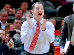 """There was a mistake. They will admit it,"" Rutgers coach Mike Rice said of the officials' errors at the end of his team's loss to St. John's. ""I made several mistakes, my players made several mistakes. ... Three great officials, I've had 'em all throughout the year. Impeccable reputation."""