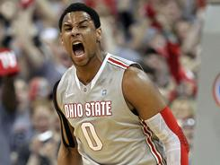 Jared Sullinger and the Ohio State Buckeyes claim the overall No. 1 seed in USA TODAY's NCAA tournament bracket projection.