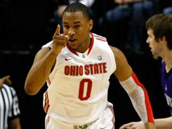 Jared Sullinger and the Ohio State Buckeyes survived a scare from Northwestern to advance in the Big Ten tournament.