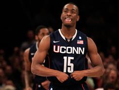 """He's as special as any player I've ever coached,"" Connecticut coach Jim Calhoun says of Kemba Walker. ""No one is going to surpass him. They may equal him, but no one is going to surpass him."""