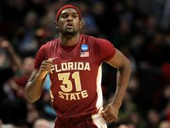 &quot;He has a high basketball IQ,&quot; Florida State coach Leonard Hamilton says of Chris Singleton, &quot;and when things broke down while he was out there, even in the first half, I thought he did a great job of getting us back in sync.&quot;