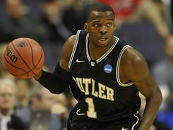 Shelvin Mack was named the Southeast Regional's most outstanding player after leading Butler to wins over Wisconsin and Florida for the school's second consecutive trip to the Final Four.