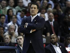 St. John's coach Steve Lavin led the Red Storm to the NCAA tournament in his first season with the school