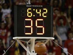 Eight states have adopted a shot clock in some form for either boys or girls basketball games.