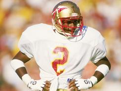 Deion Sanders played for Florida State from 1985-88 and won the Jim Thorpe award as the nation's top defensive back.