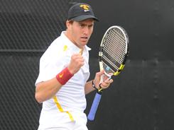 Southern California's Steve Johnson is the top-ranked college tennis player.