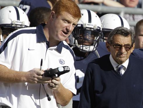 Mike McQueary has been a player or coach at Penn State since 1994